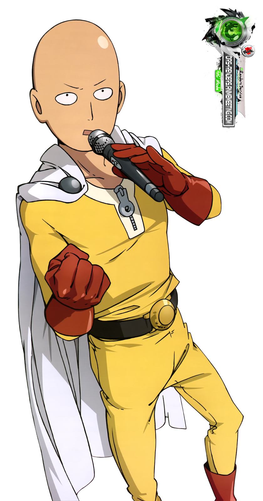 One punch man saitama png. Manga art anime transprent