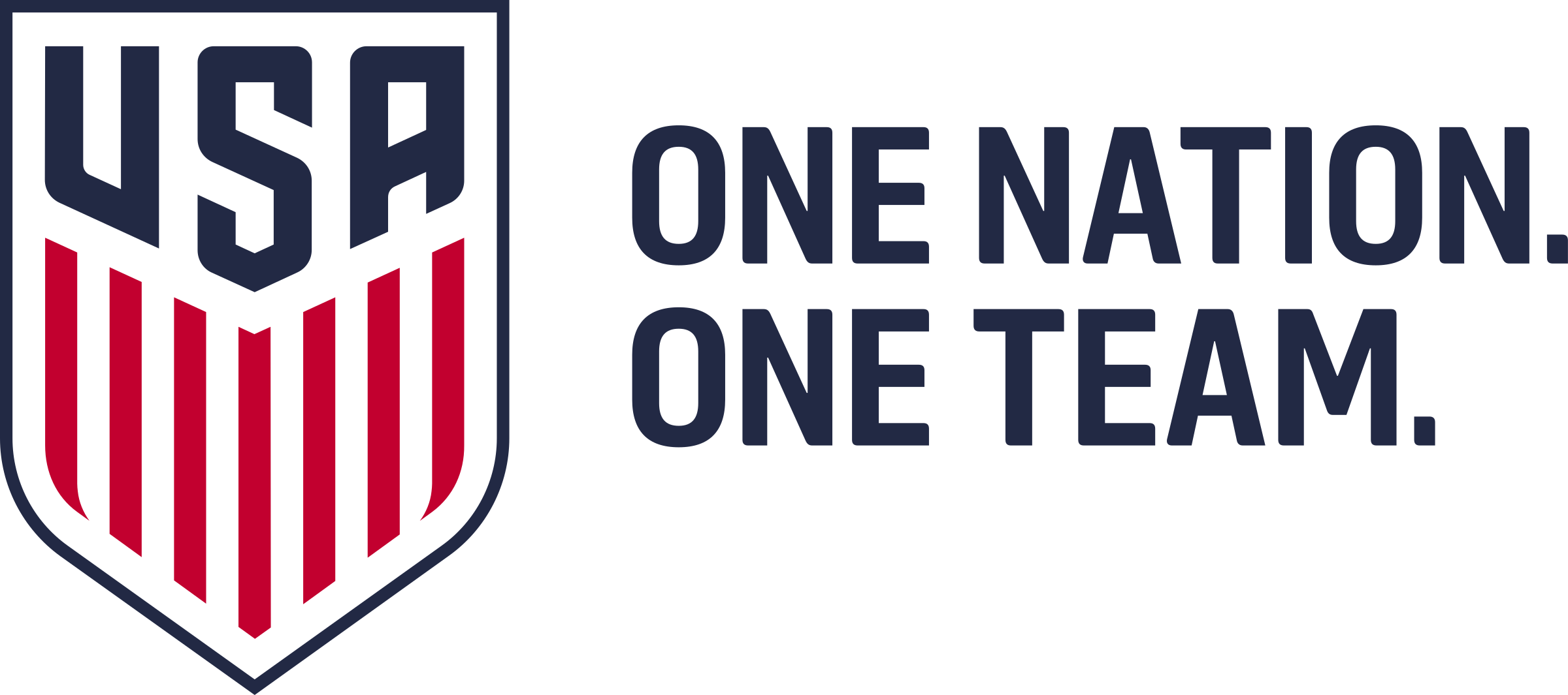 One vector team. Usa nation logo png