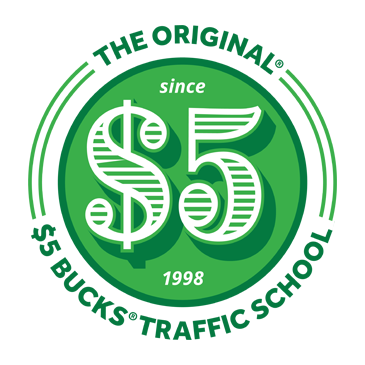 Only 5 bucks png. Traffic school online