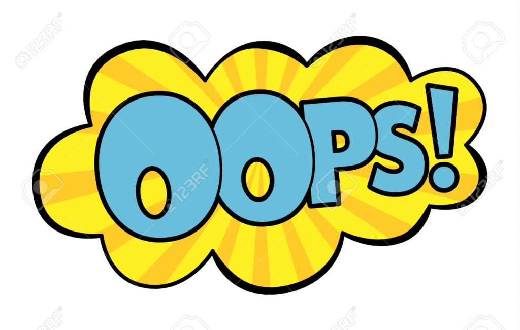 speech bubble in. Oops clipart picture free stock