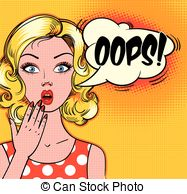 Oops clipart. And stock illustrations vector image royalty free library