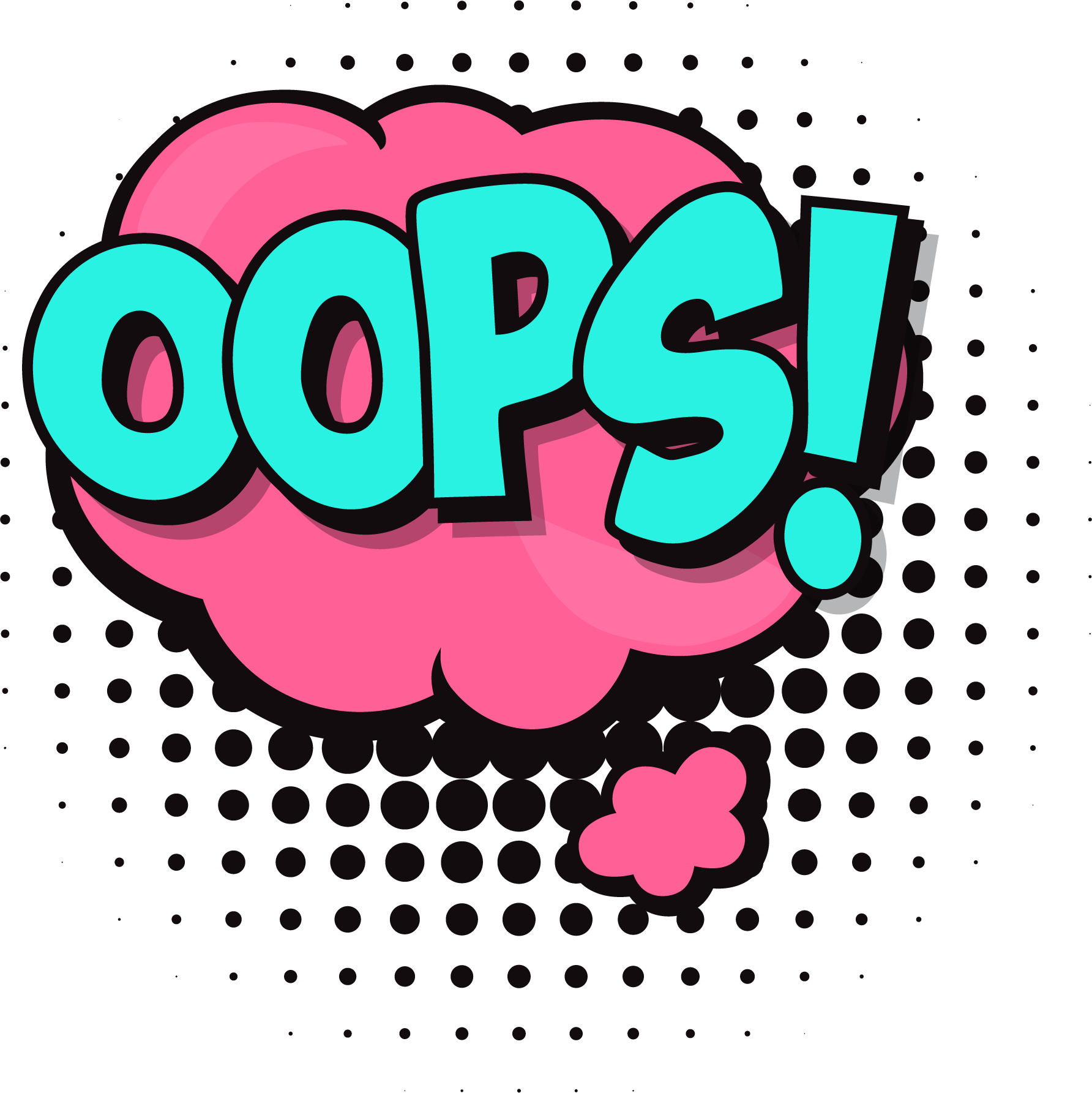 Oops Cloud Transparent & PNG Clipart Free Download - YA-webdesign