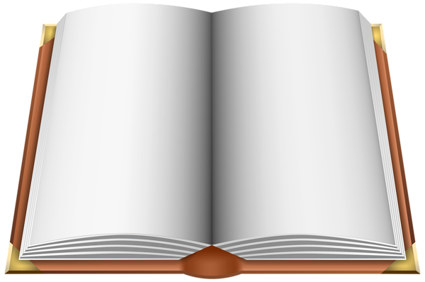 Open book clip art png. Brown image gallery yopriceville