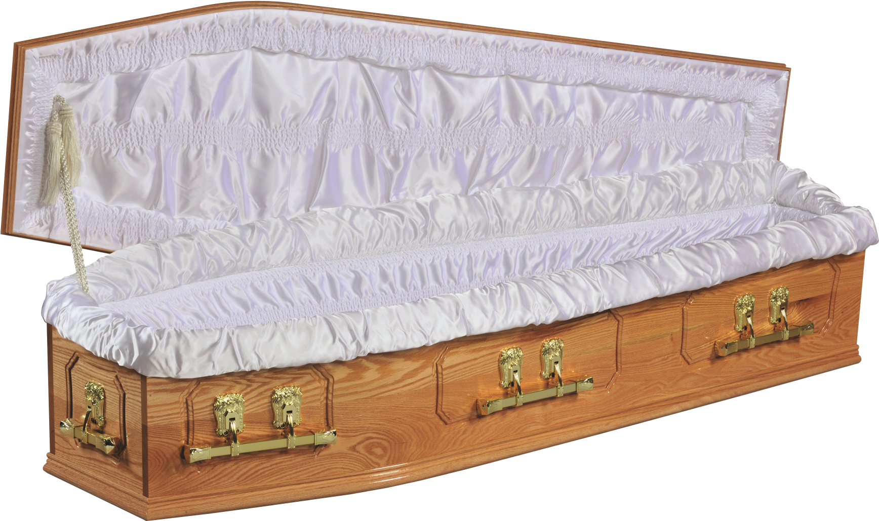 Transparent coffin wood. Download suite image open