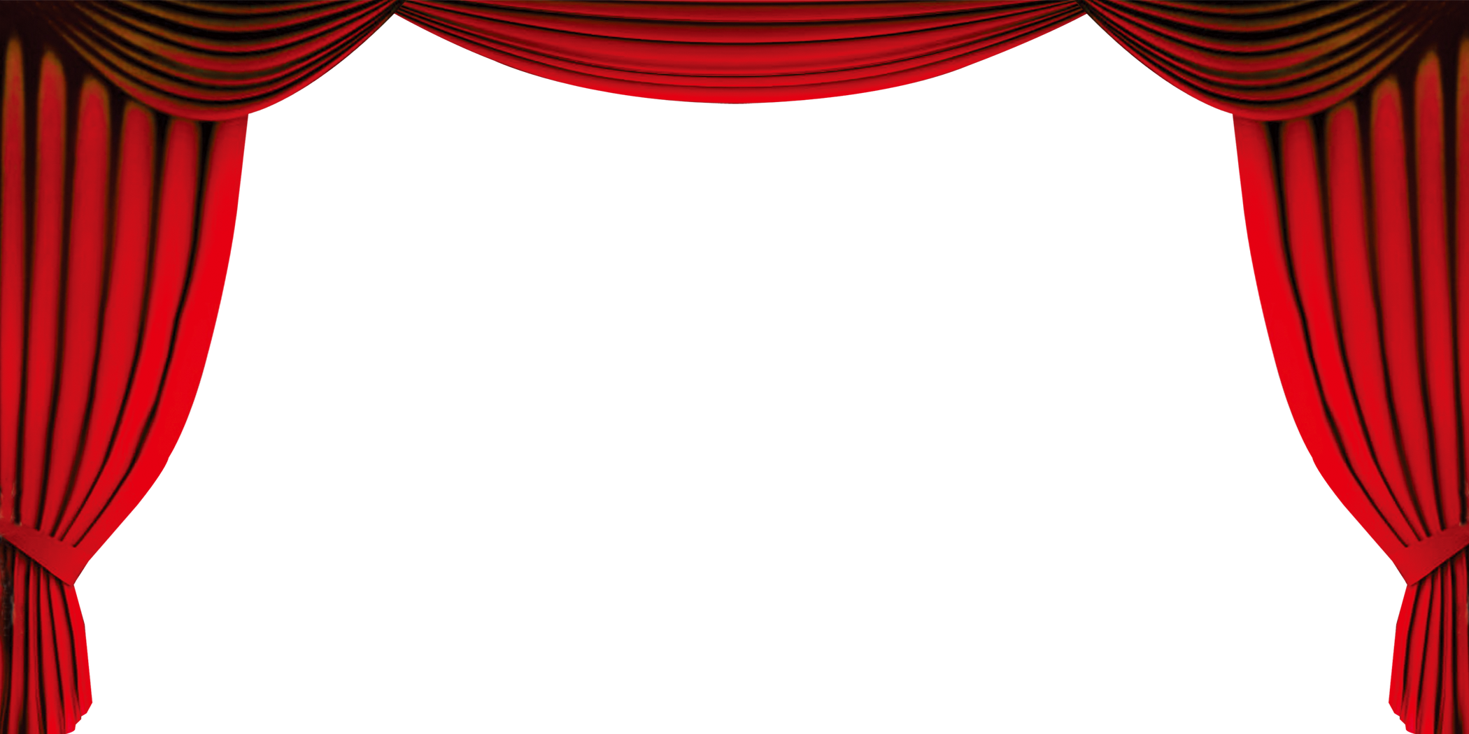 Gold curtain png. Red clip art opening