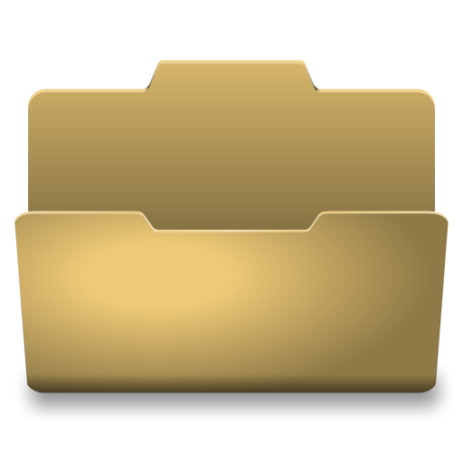 Open file folder png. Yellow icon classy icons