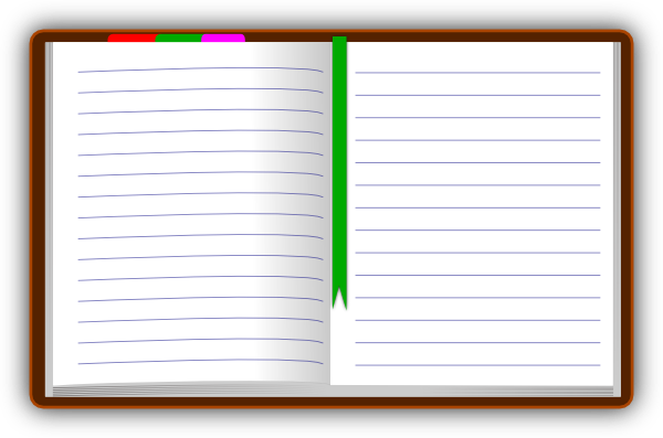 page vector notebook