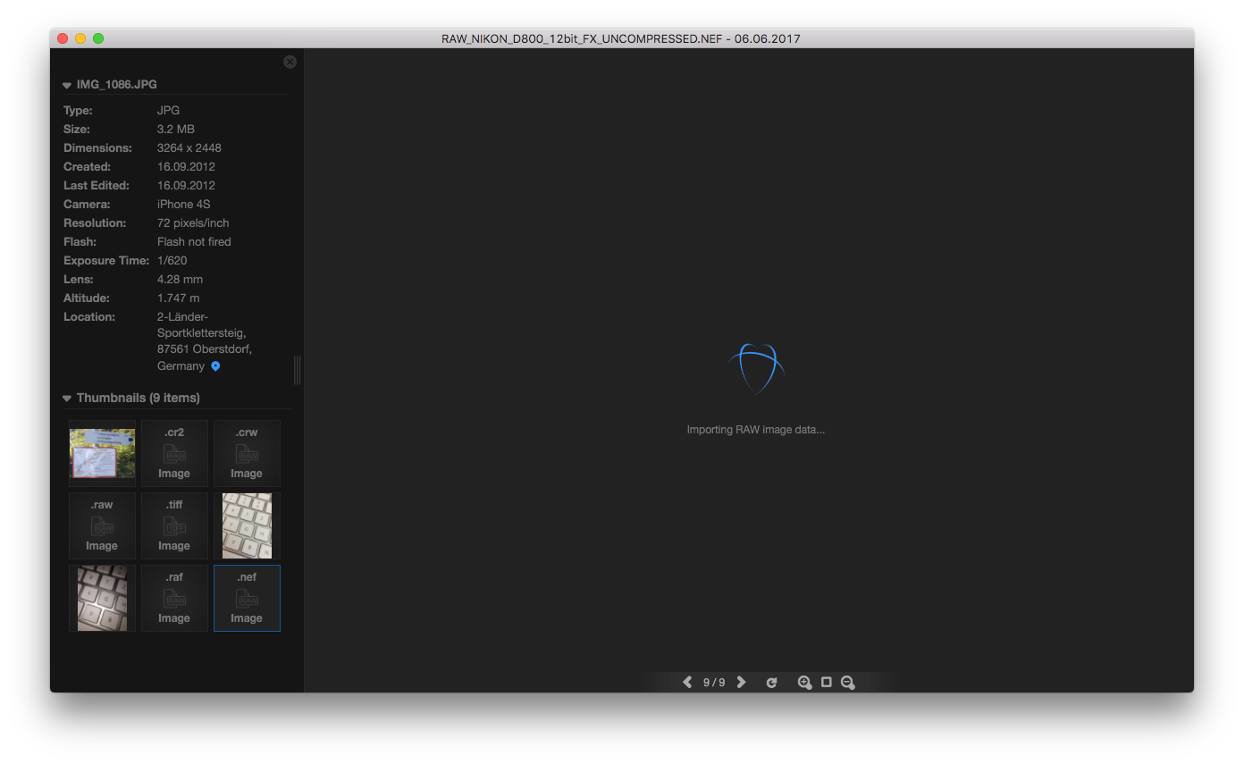 Open png mac. Raw photo importing os