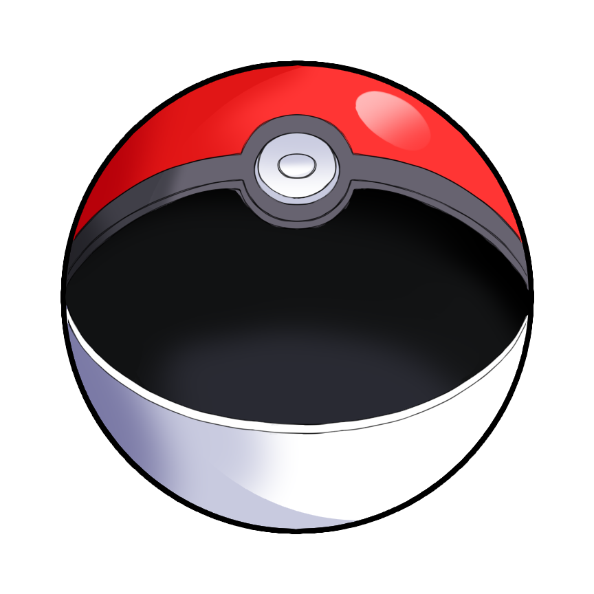 open pokeball png