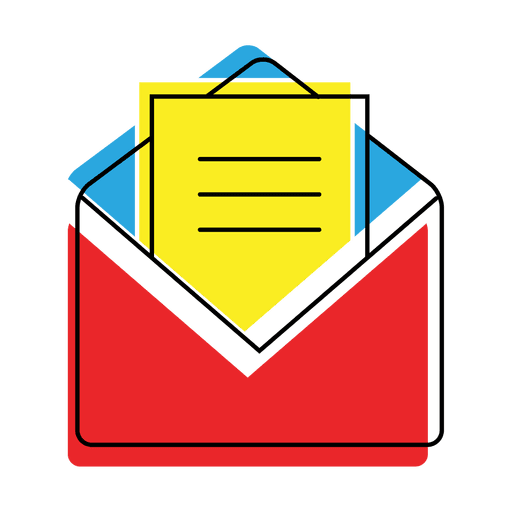 Open vector png. Message mail icon transparent