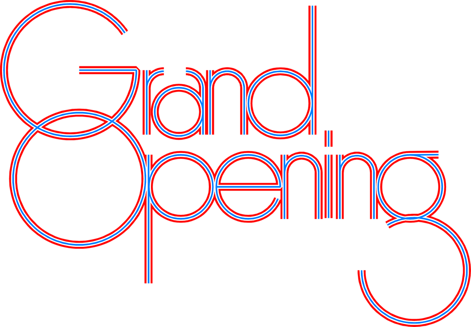 Opening vector grand. Free stock photo illustration