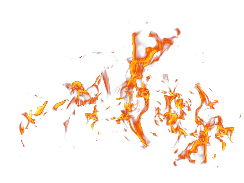 Orange bokeh png. Fire effects stock image