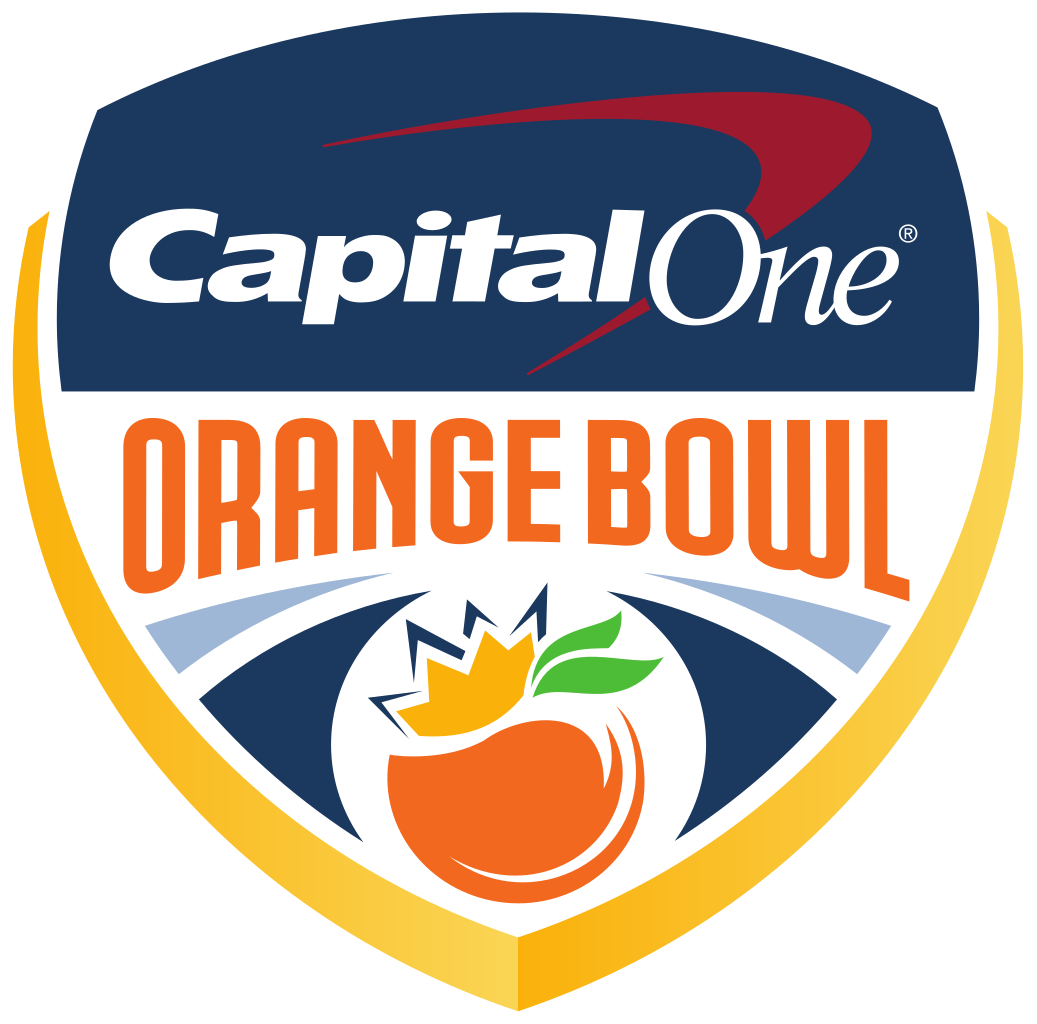 Orange bowl logo png. Capital one sports fan