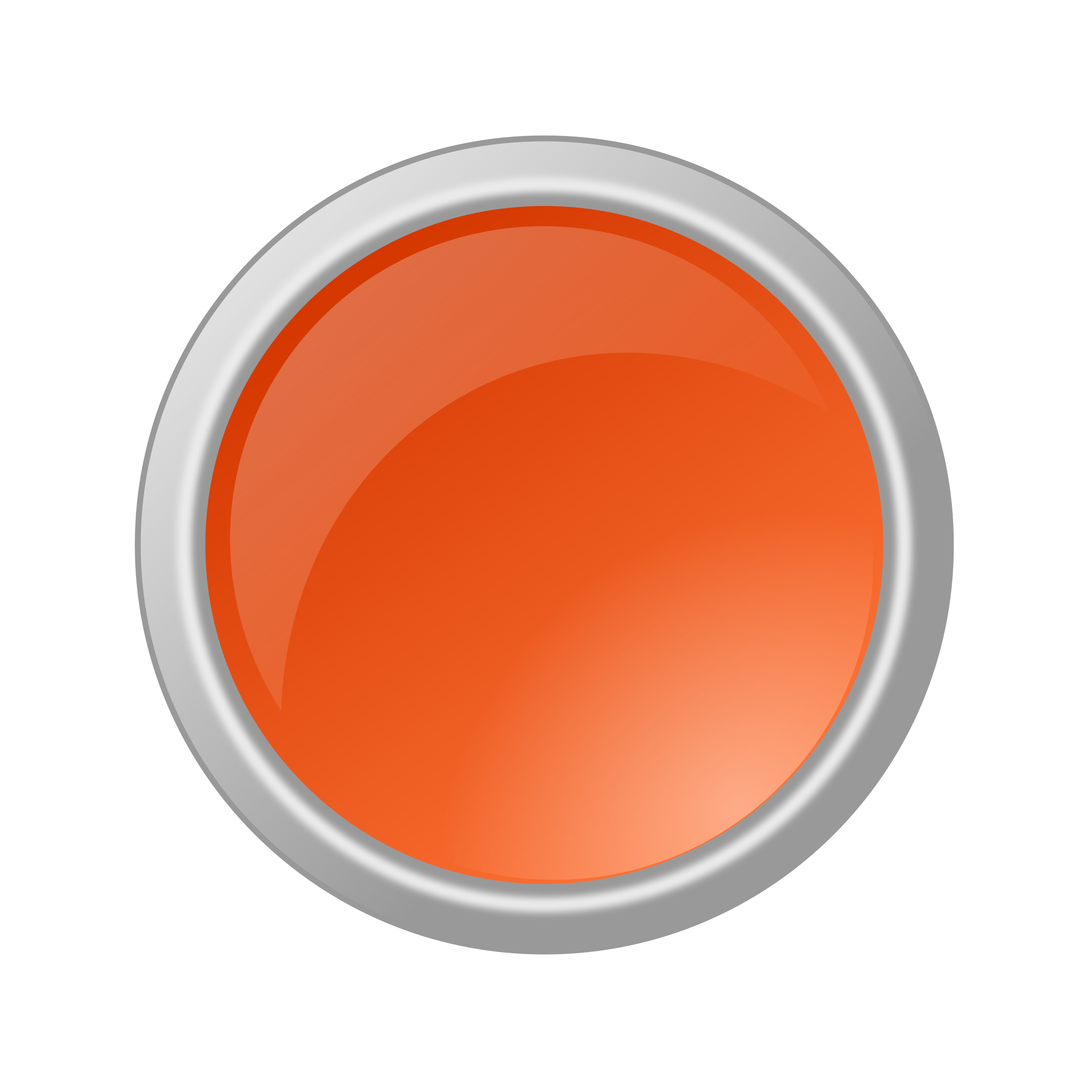 Orange button png. Glossy icons free and