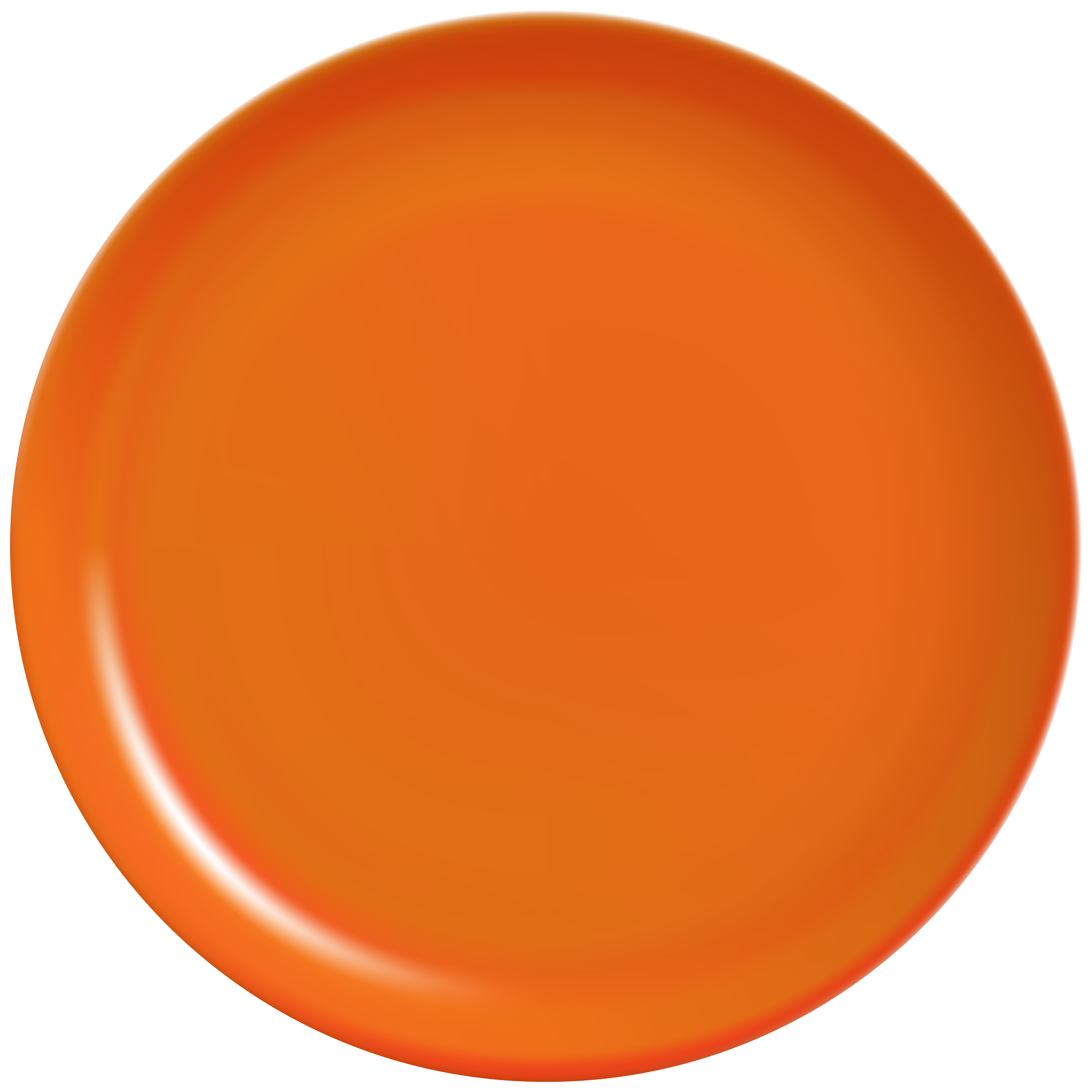 Orange clip art best. Plate clipart png vector free download