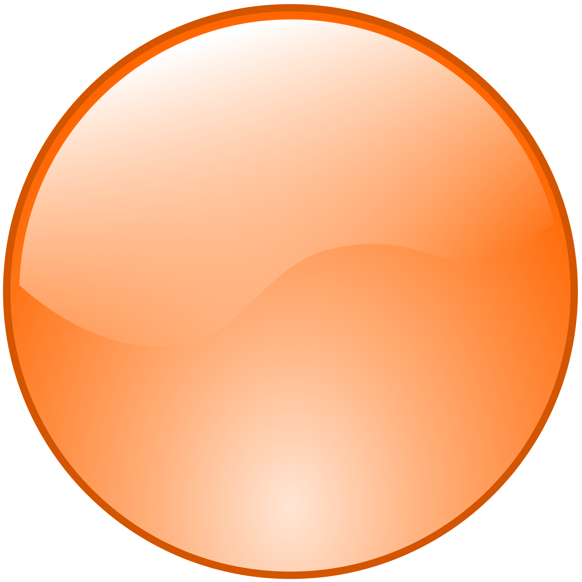 Orange Circle Transparent & PNG Clipart Free Download - YWD