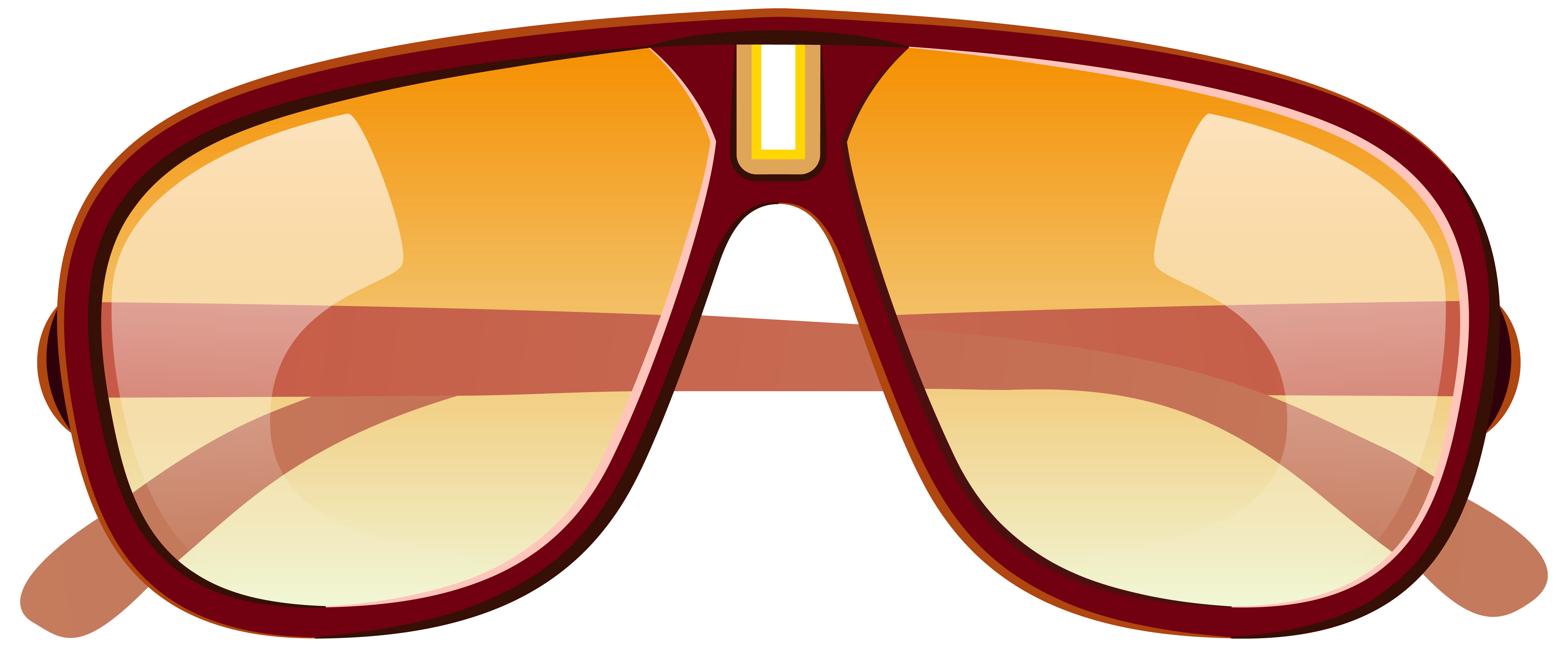 Sunglasses clipart orange. Large png picture gallery