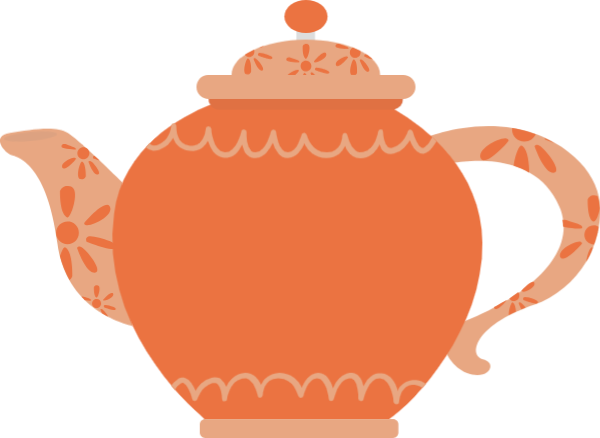 Tea clipart afternoon snack. Free online teapot kettle
