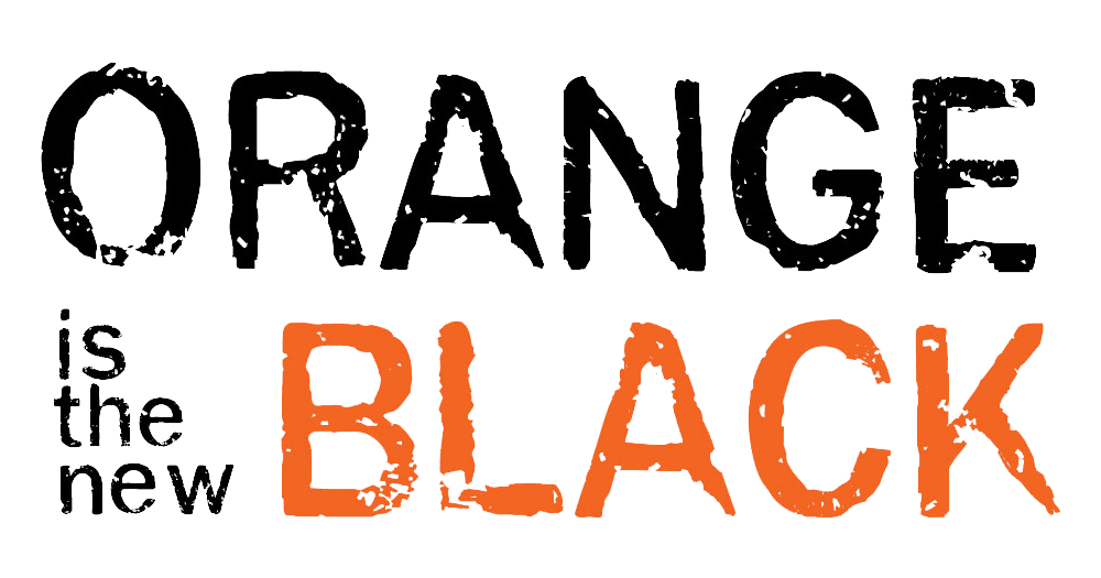 Orange is the new black logo png. Star taylor schilling excited