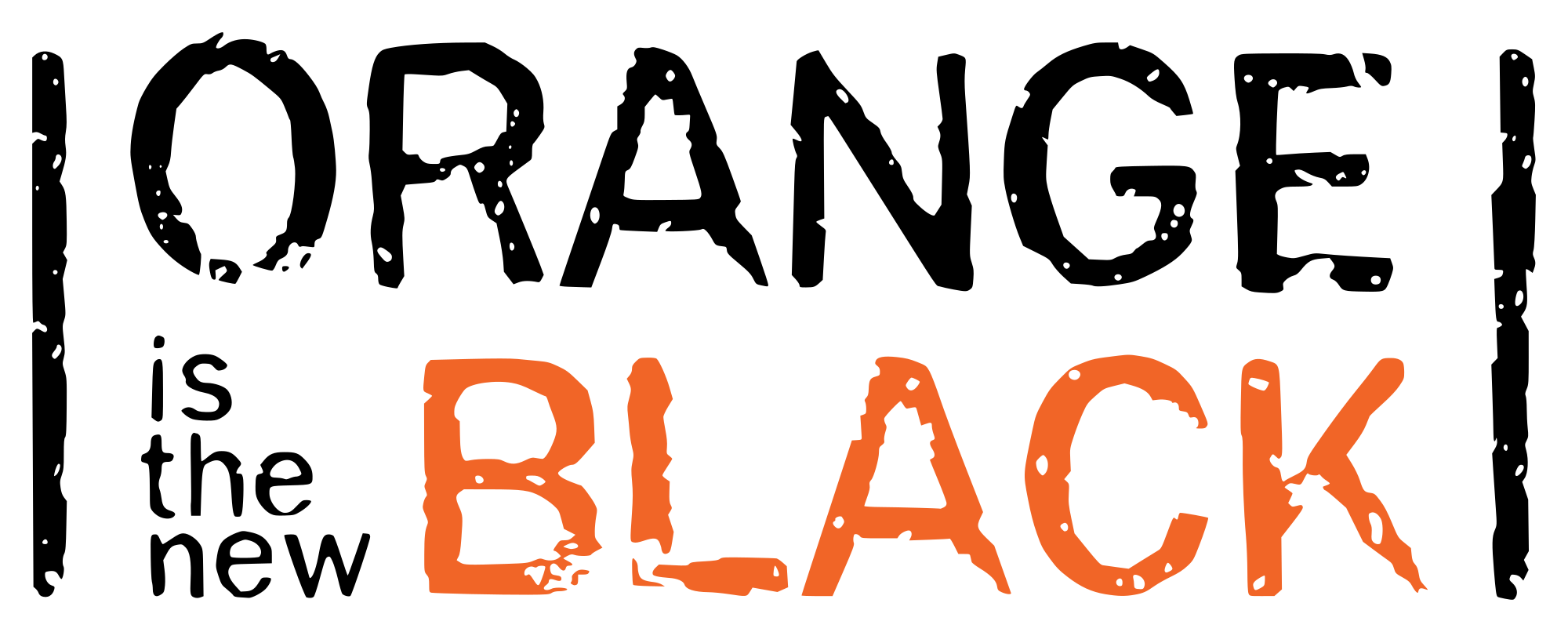 orange is the new black logo png