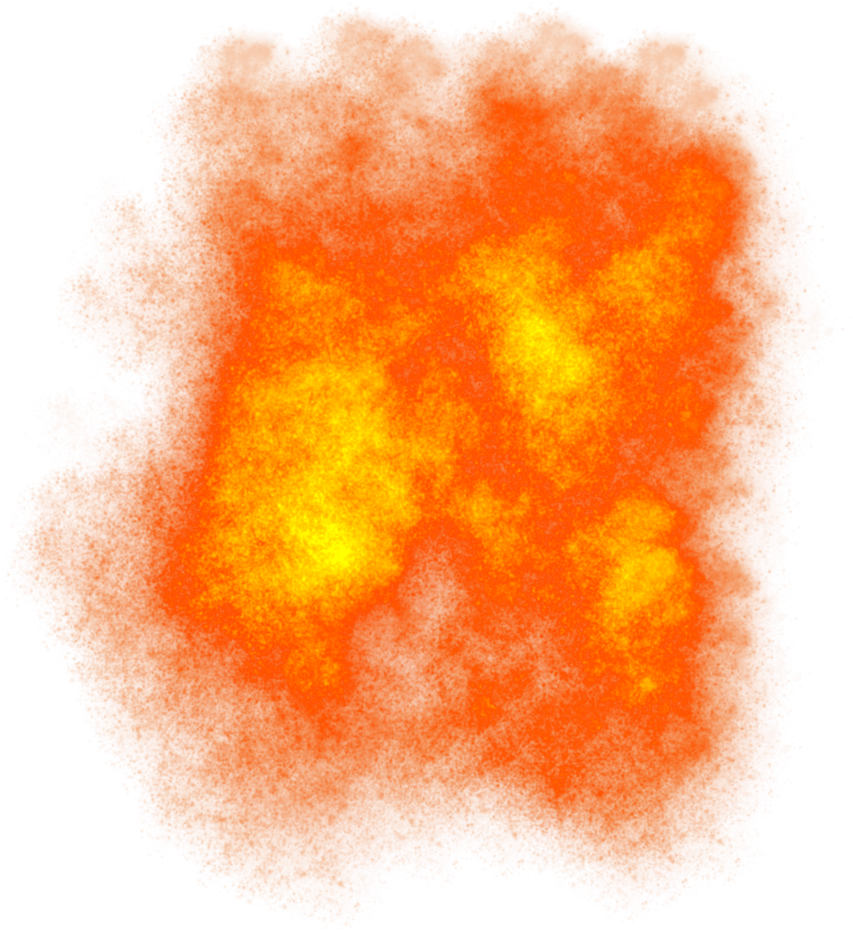 Orange smoke png. Misc fire element by