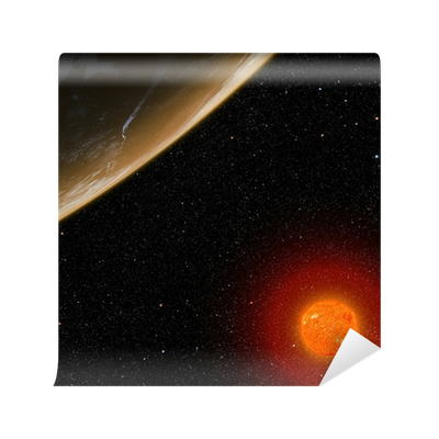 Orange star picture by nasa png. Planet with elements of