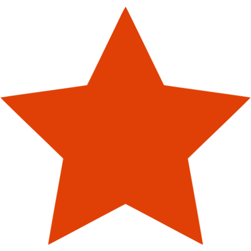 Orange star png. Red image purepng free
