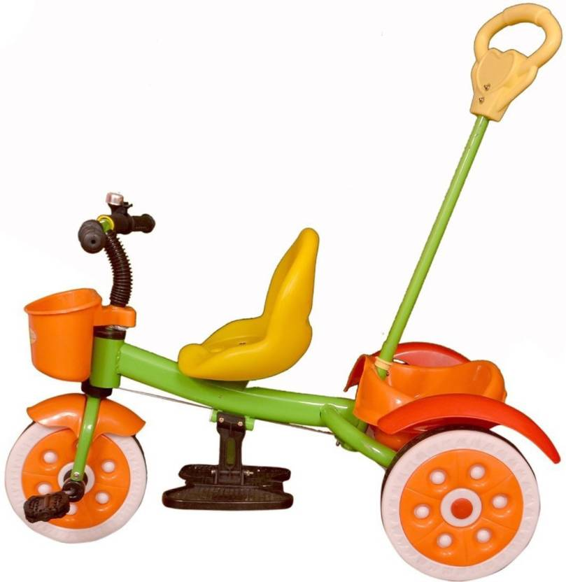 Orange tricycle. Oximus latest baby for
