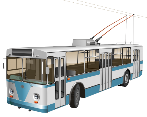 Yellow trolleybus. Png clipart best web