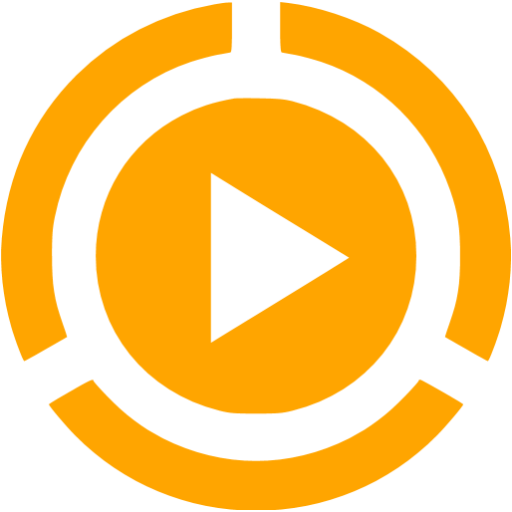 Orange video icon png. Play free icons