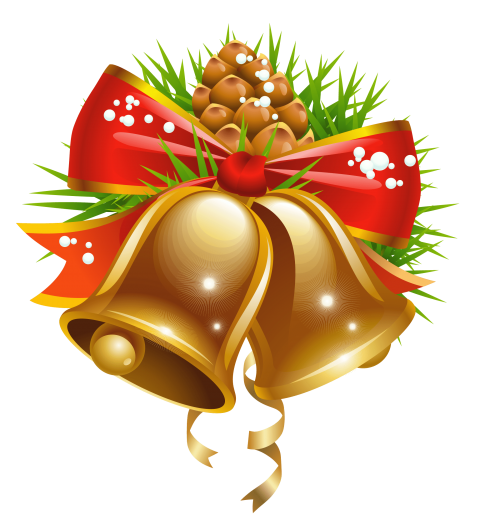 Golden bell png. Download christmas clipart photo