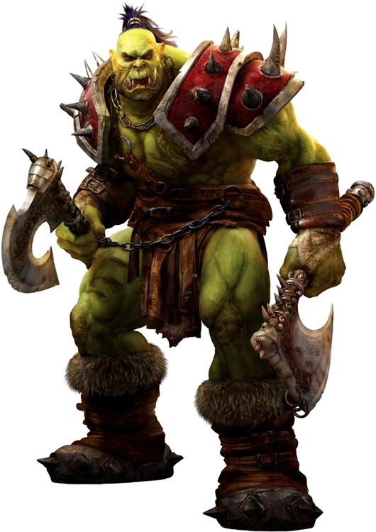 Orc warrior png. Warcraft minecraft skin dorcpng