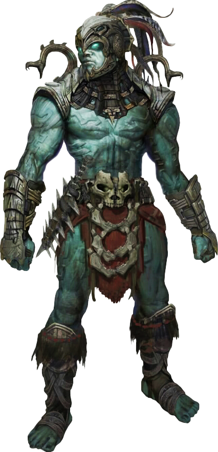 Orc warrior png. Fantasy characters
