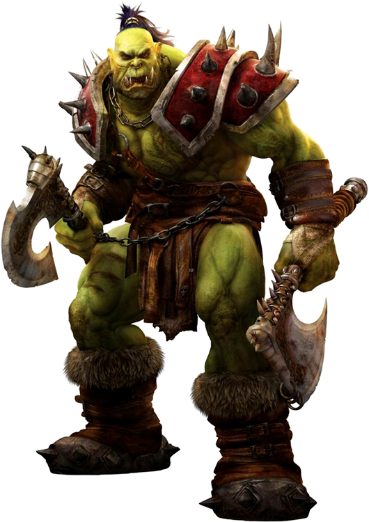 Orc warrior png. Wowwiki fandom powered by