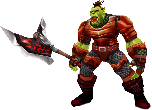 Orc warrior png. Scrolls of lore image