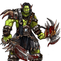 Orc warrior png. Image dream world wiki