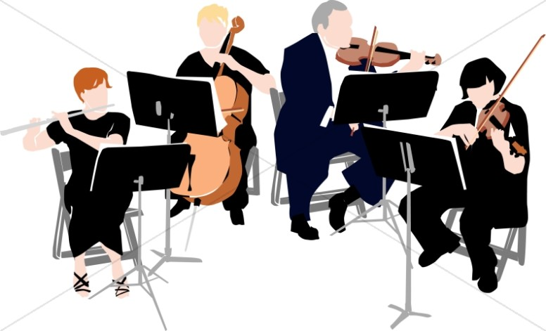 orchestra clipart classical music