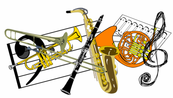 Orchestra clipart spring. Vance charter school band
