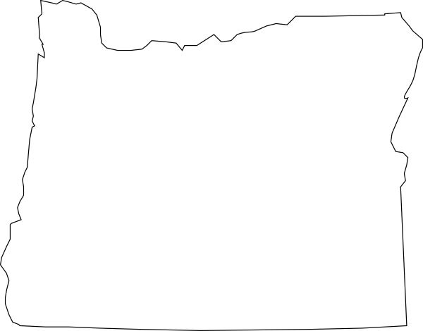 Oregon outline png. Clipart pencil and in