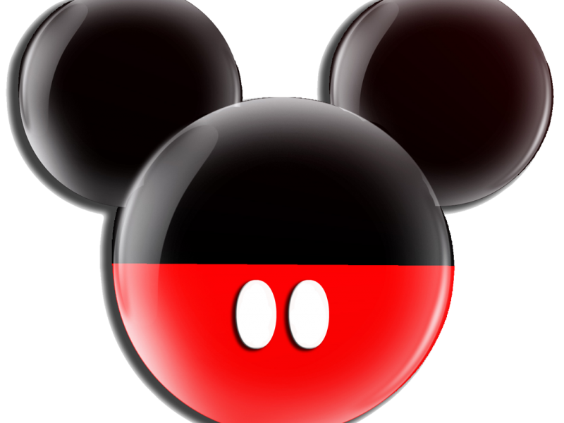 Orejas de mickey mouse png. Head black and red
