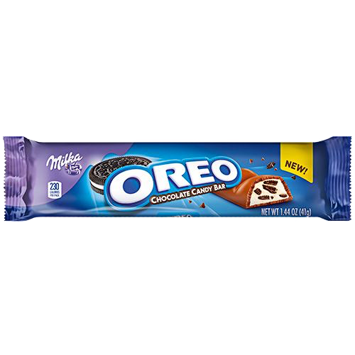 Oreo candy bar png. Milka chocolate oz great