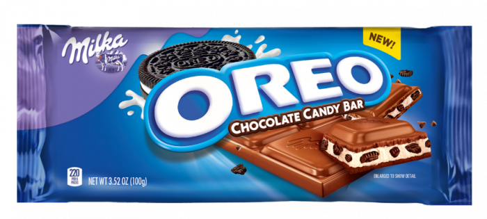 Oreo candy bar png. Cookies new chocolate release