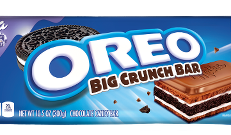 Oreo candy bar png. Debuts new big crunch