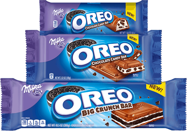Oreo candy bar png. For milka chocolate