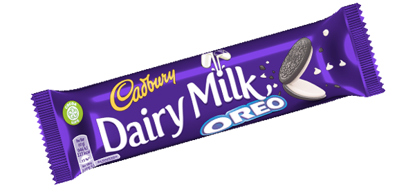 Oreo candy bar png. Cadbury dairy milk co