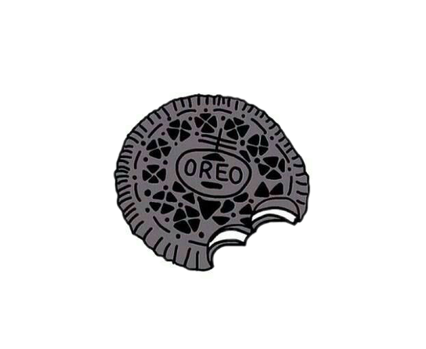 Oreo clipart sticker. Cookies ftestickers pa by