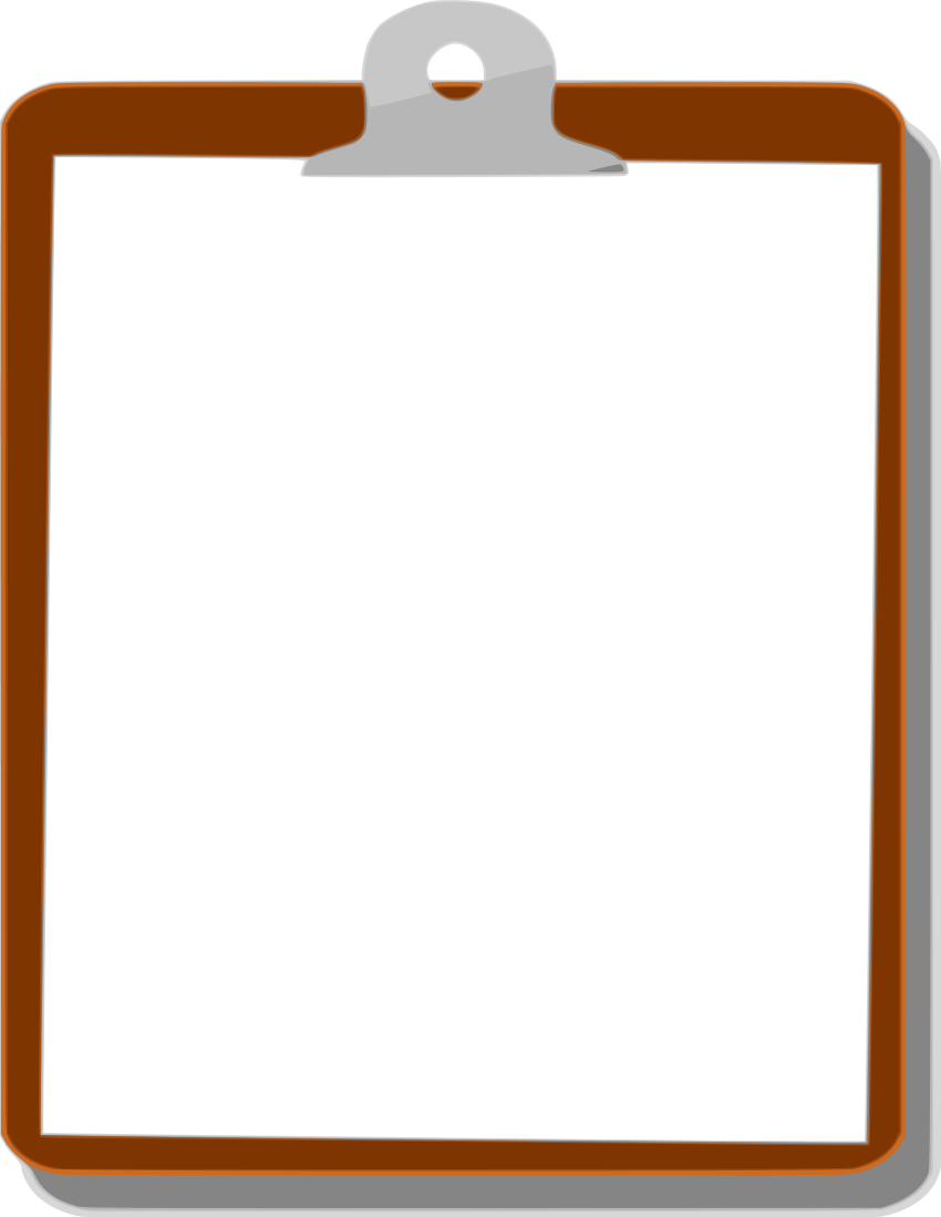 Clipboard png transparent. Difference between clipart and