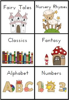 Organized clipart library rule. Classroom book lables writing