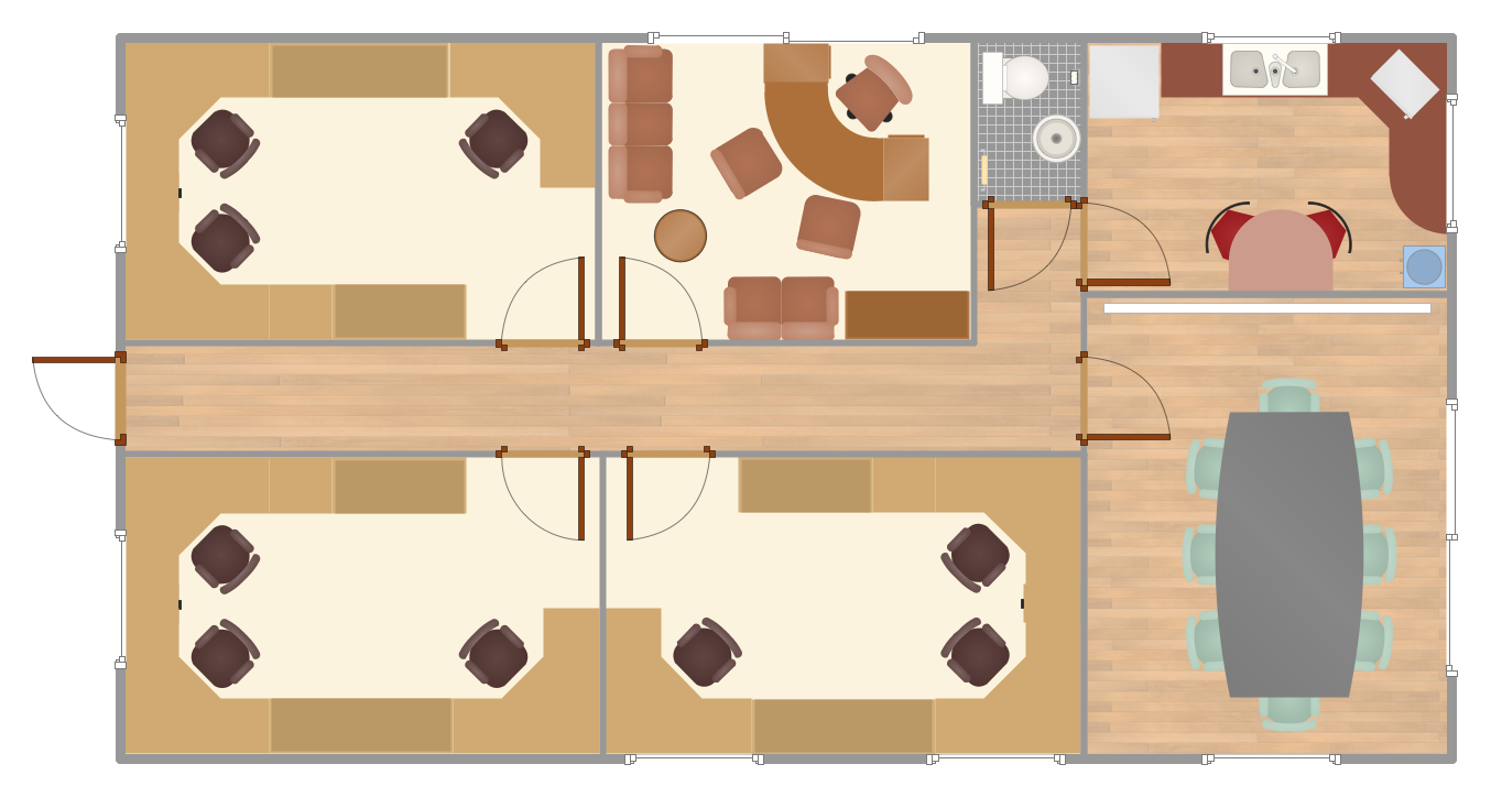Organized clipart office space. Interior design layout plan