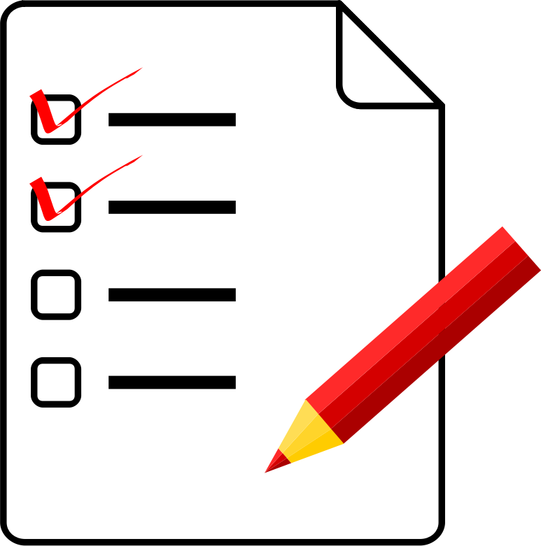 Checklist medium image png. Organized clipart task clipart freeuse stock